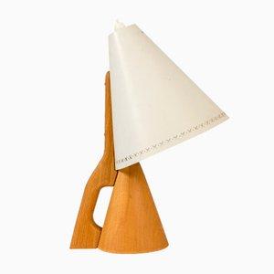 Lampe de Bureau en Hêtre et Métal de ASEA, 1950s