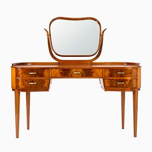 Mahogany Dressing Table by Axel Larsson for Bodafors, 1940s