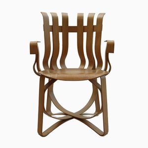 Hat Trick Chair By Frank Gehry For Knoll, 1992