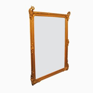Large Gilded Mirror, 1890s