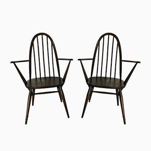Vintage Quaker Stühle von Lucian Ercolani für Ercol, 1960er, 2er Set