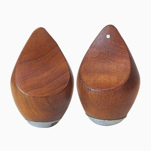 Mid-Century Salt & Pepper Shakers Set by P. J. Østergaard for PJ Form