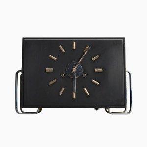 Vintage Bauhaus Mantel Clock by Junghans Meister