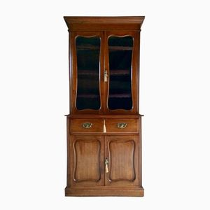 Antique Display Cabinet in Mahogany, 1870s