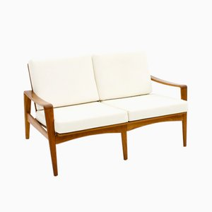 2-Seater Teak Sofa by Arne Wahl Iversen for Komfort, 1960s