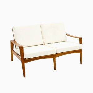 Canapé 2 Places en Teck par Arne Wahl Iversen pour Komfort, 1960s