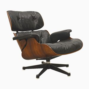 Rosewood Lounge Chair by Ray & Charles Eames for Herman Miller, 1960s