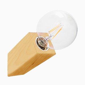 Lampada da parete Pirn in acero di Andrea Pregl per Ulap design