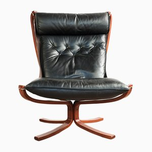 Vintage Falcon Chair by Sigurd Ressell for Vatne Møbler
