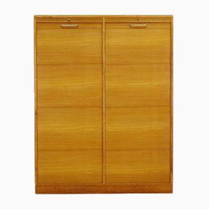 Vintage Danish Teak Veneer Cabinet