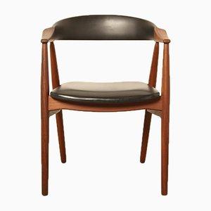 Vintage 213 Stuhl von TH Harlev für Farstrup