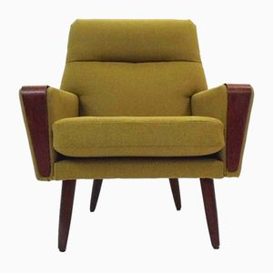 Vintage Danish Highback Armchair, 1960s
