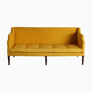 Englisches Sofa mit 6 Füßen aus 19. Jh.