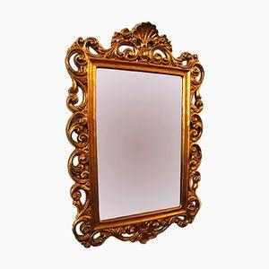 Vintage Gold Wall Mirror