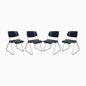Stühle von Wilkhahn, 1960er, 4er Set