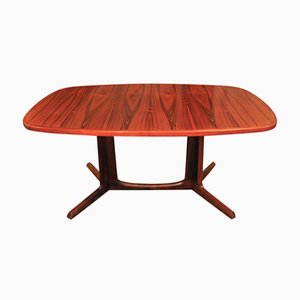 Extendable Rosewood Dining Table by Niels Otto Møller for Gudme Møbelfabrik, 1950s