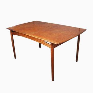Afrormosia & Teak Extendable Dining Table from G-Plan, 1960s