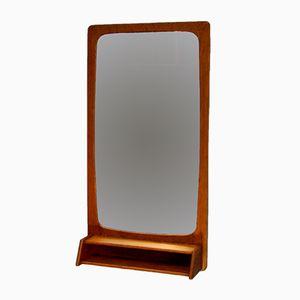 Danish Mirror with Teak Frame, 1960s
