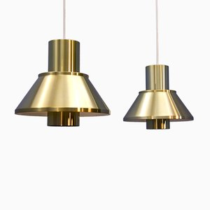 Life Pendant Lamps by Johannes Hammerborg for Fog & Mørup, 1960s, Set of 2