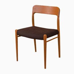 Model 75 Chair by Niels O. Møller for J.L. Møllers, 1950s