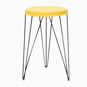 Mid-Century Stool by Tjerk Reijenga for Pilastro