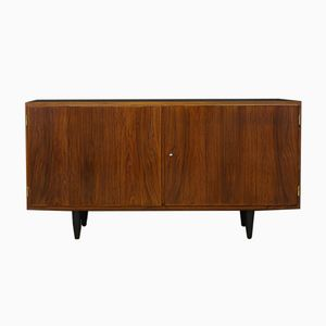 Mid-Century Rosewood Veneer Sideboard by Carlo Jensen for Hundevad & Co.