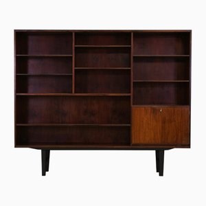 Mid-Century Rosewood Veneer Bookcase from Omann Jun