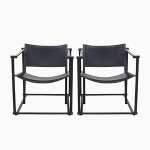 Würfelförmige FM61 Stühle von Radboud van Beekum für Pastoe, 1980er, 2er Set