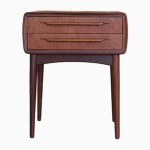 Teak bedside Drawers by Johannes Andersen for CFC Silkeborg, 1950s