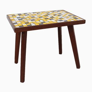 Small Tiled Side Table, 1970s