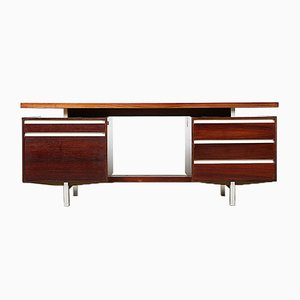 J1 Executive Rosewood Desk by Kho Liang Ie for Fristho, 1956