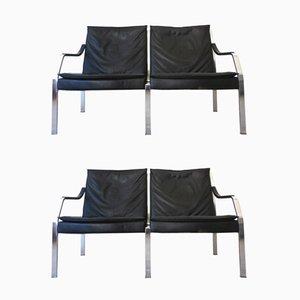 Canapé 2 Places Collection Art par Preben Fabricius & Jorgen Kastholm pour Walter Knoll, 1970s, Set de 2