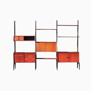 Wall Unit by Louis Van Teeffelen for Webe, 1960s
