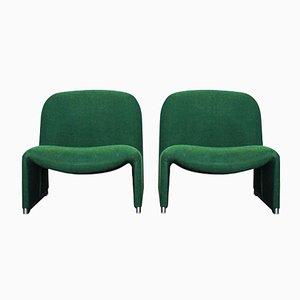 Italienische Alky Sessel von Giancarlo Piretti für Castelli, 1972, 2er Set