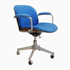 Mid-Century Terni Series Swivel Office Chair with Armrests by Ico Parisi for MIM