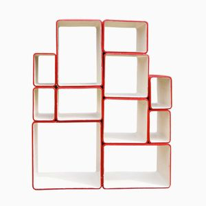 Vintage Cube Shelving Set by Willy Guhl