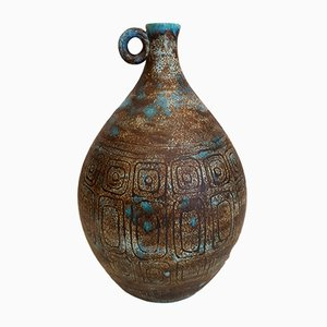 Vaso in ceramica di P. Barat, anni '50