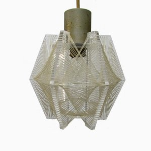 Model Swag Pendant Lamp by Paul Secon for Sompex, 1960s