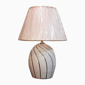 Keramik Lampe von Carpiè Nove, 1980er