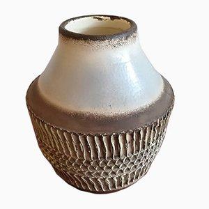 Vase en Céramique Art Déco par Jean Besnard, 1930s