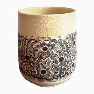 Art Deco Ceramic Vase by Jean Besnard, 1932
