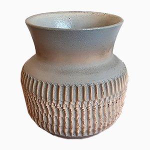 Art Deco Ceramic Vase by Jean Besnard, 1930s