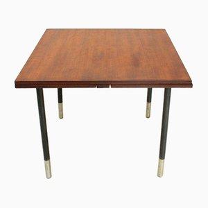 Ausziehbarer quadratischer Tisch aus Teakholz von Giampiero Vitelli für Rossi di Albizzate, 1960er