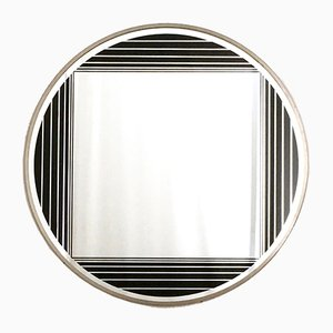 Italian Round Wall Mirror by Gianni Celada, 1960s