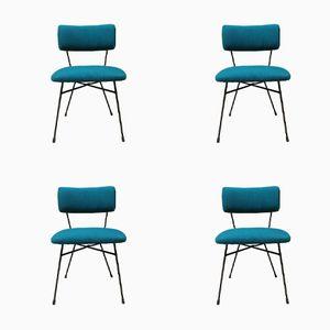 Elettra Chairs by B.B.P.R. for Arflex, 1954, Set of 4