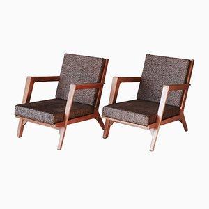 Lounge Chairs by Elmar Berkovich for Metz & Co, 1940s, Set of 2