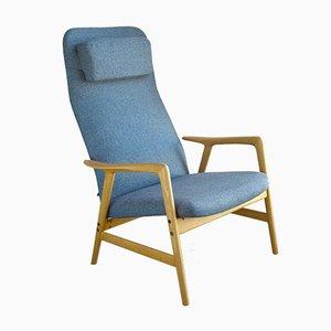 Kontur Sessel mit hoher Rückenlehne von Alf Svensson für Ljungs Industrier, 1950er