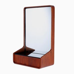 Euroika Plywood Mirror Console by Friso Kramer for Auping, 1960s