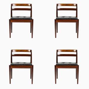 Universe Palisander Stühle von Kai Kristiansen für Magnus Olesen, 1960er, 4er Set