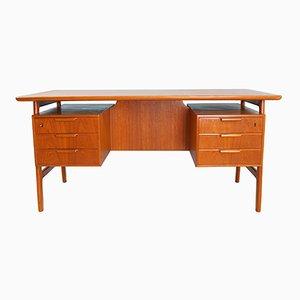 Model 75 Desk in Teak from Omann Jun, 1950s